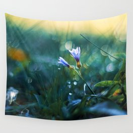 Submerge to a Voyage Wall Tapestry