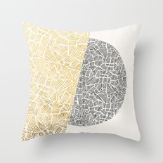 Inca Day & Night Throw Pillow