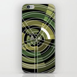 Exploded view camouflage iPhone Skin