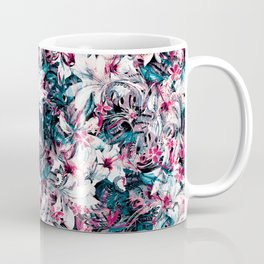 Seamless Floral And Paisley Pattern Coffee Mug
