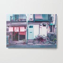 Afternoon in a Tokyo Residential Street Metal Print