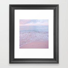calm day 02 ver.pink Framed Art Print