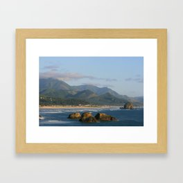 Ecola View Point Framed Art Print