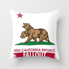 New California Republic Throw Pillow