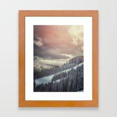 Off Piste Framed Art Print
