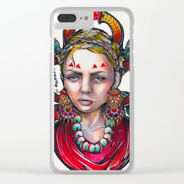 Tears of a Gypsy Clear iPhone Case