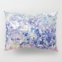 Twilight Tides - Abstract Art Pillow Sham