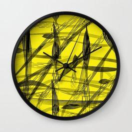 Inked IV Wall Clock