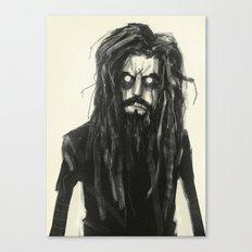 Rob Zombie Canvas Print