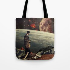 The Roses Came Tote Bag