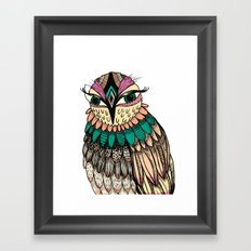 A Lovely Owl Framed Art Print