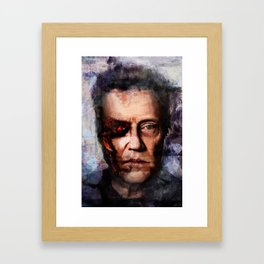 Christopher Walken Terminator Framed Art Print