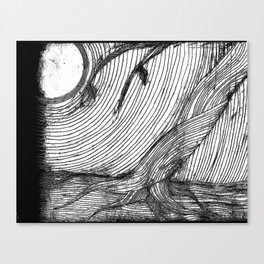 disappearance Canvas Print