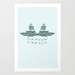 Captain of My Soul Art Print