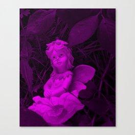 Broken Dreams In Purple Canvas Print