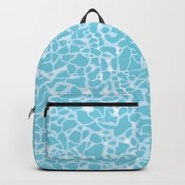 Pool Water Sparkles Backpack