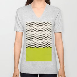 Geometric Print, Geometric Art, Black and White Stripes, White Print, Minimalist Art, Wall Art, Line Unisex V-Neck