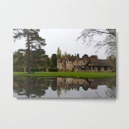 Tudor Reflections Metal Print