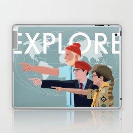 LIFE RUSHMOONRISE Laptop & iPad Skin