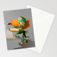 Roller Derby! Stationery Cards
