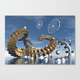 Time chasers Canvas Print