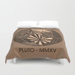Pluto Sketch Duvet Cover