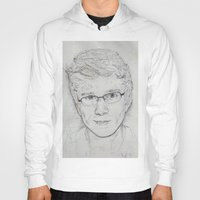 tyler spangler Hoodies featuring Tyler Oakley by EleanorOrchard
