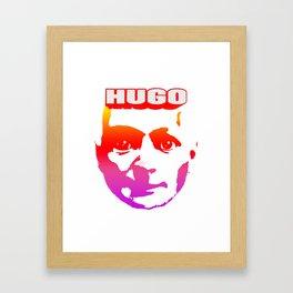 Hugo T Framed Art Print