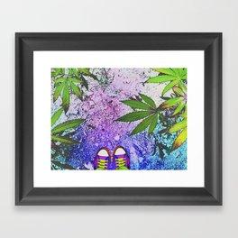 Stay High Framed Art Print