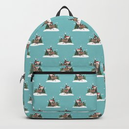 Christmas Deers Backpack