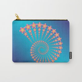 Denise's Frangipani Spiral Shell Carry-All Pouch