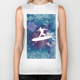 Sport, surfboarder Biker Tank