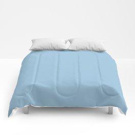 Dunn & Edwards 2019 Trending Colors January Frost (Pastel Blue / Baby Blue) DE5849 Solid Color Comforters