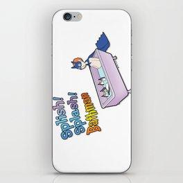 The Bath Guys - Splish! Splash! Bathman iPhone Skin