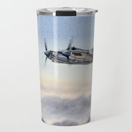 Mosquito De Havilland Aircraft Travel Mug