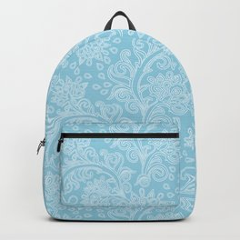 New damask in blue Backpack