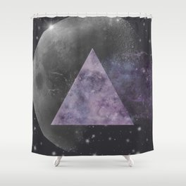 Galaxy Point Shower Curtain