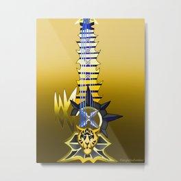 Fusion Keyblade Guitar #83 - Leopardus' Keyblade & Abaddon Plasma Metal Print