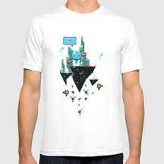 Judge Jelly MEDIUM Mens Fitted Tee White