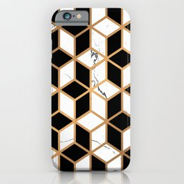 Marble Mosaic iPhone Case