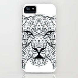 Big Cat Portrait iPhone Case