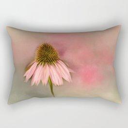 Pretty Cone Flower Rectangular Pillow