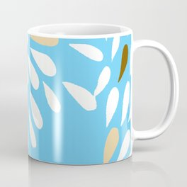 DAHLIA FLOWER RAIN DROPS TEAR DROPS PATTERN Coffee Mug