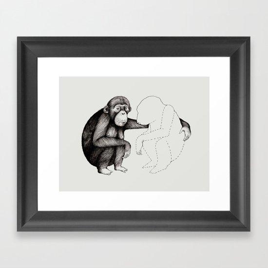 'Gone' Framed Art Print