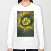 golden Long Sleeve T-shirts featuring Golden by gabiw Art