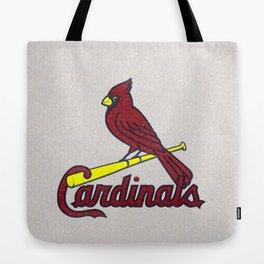 St. Louis Cardinals Logo Tote Bag