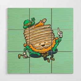 St Patricks Cakes Wood Wall Art