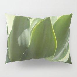 green leaves Pillow Sham