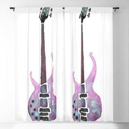 Guitar 2 Blackout Curtain