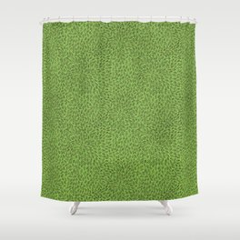 Hand drawn leaves Shower Curtain